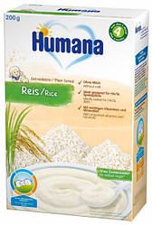 Безмолочная каша Humana Рисовая, 200 г