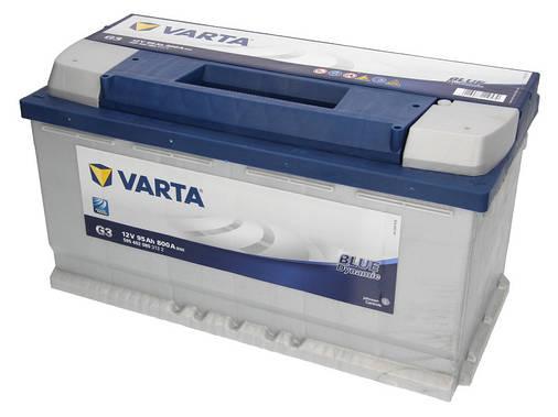 Аккумулятор VARTA BD 95Ah EN800 R+ (G3), фото 2