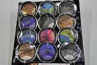Тени Editt Cosmetics круглые 4 цвета в 1