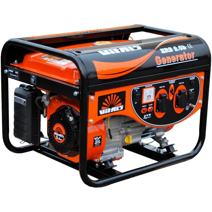 Генератор бензиновый Vitals ERS 2.5b (2,5 кВт)