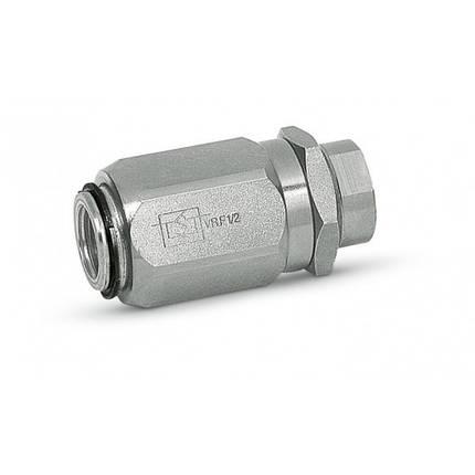 """Дросель-бочка з зворотним клапаном VRF 3/4"""" (Італія), фото 2"""
