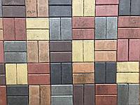 Тротуарная плитка Кирпичик стенд 4-6, фото 1