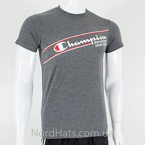 Спортивная футболка, Champion (Меланж серый)