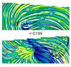 Слайдеры наклейки С199,  7х 6,5 см