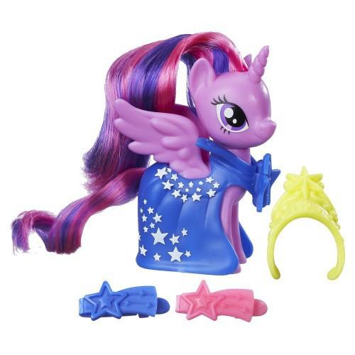 Май литл пони Принцесса Твайлайт Спаркл (Искорка) Модница в юбочке с аксессуарами Hasbro B9623/B8810