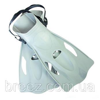 Набор для плавания Bestway маска, трубка и ласты, от 14 лет серый, фото 2