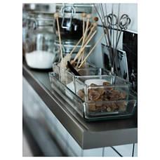 МИКСТУР Форма/блюдо для духовок, 4 шт, прозрачное стекло 60101652 IKEA, ИКЕА, MIXTUR, фото 2
