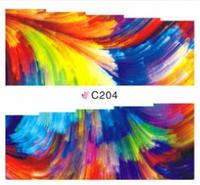 Слайдеры наклейки большие,разноцветные, С204-206, фото 1