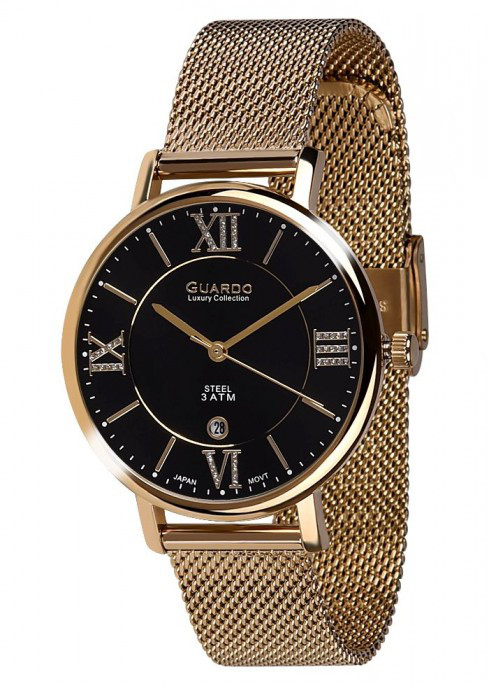 Женские наручные часы Guardo S01063(m) GB