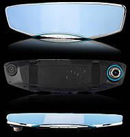 Автомобильное зеркало-видеорегистратор с камерой заднего вида.Экран 5 дюймов.С картой памяти 16 гб.