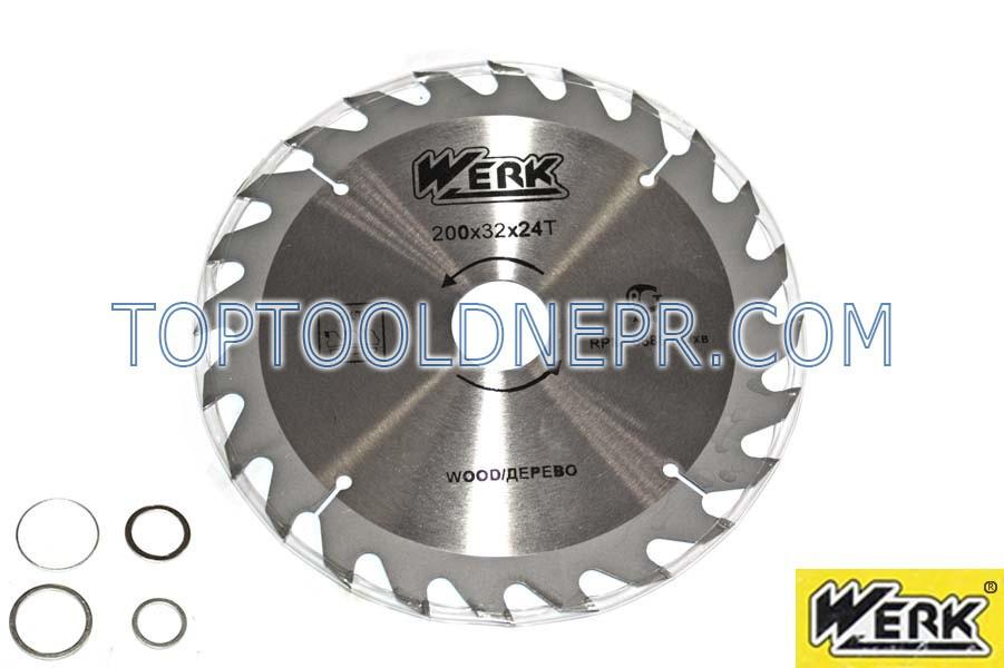 Пильный диск WERK 200х32х24зубов