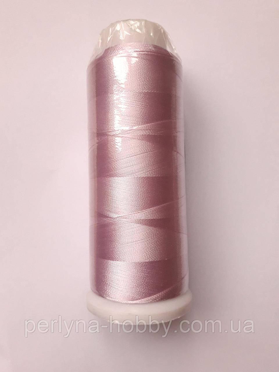 Нитки для машинної вишики 100% віскоза (100% rayon) 3000  світло бузковий № 252