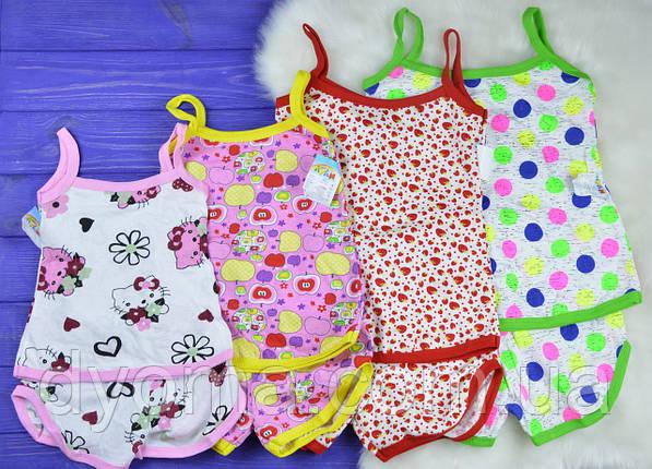 """Комплект детской пижамы """"Колокольчик"""" для девочек, фото 2"""