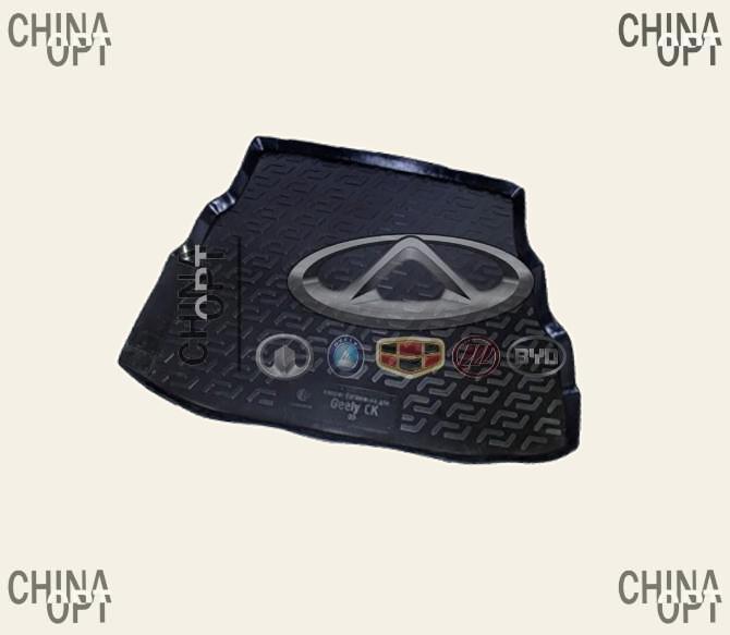 Коврик багажника, резино-пластик, Geely CK1F [с 2011г.], CRCK12, MEGA LOCKER