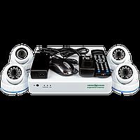Комплект видеонаблюдения Green Vision GV-K-L06/04 720Р