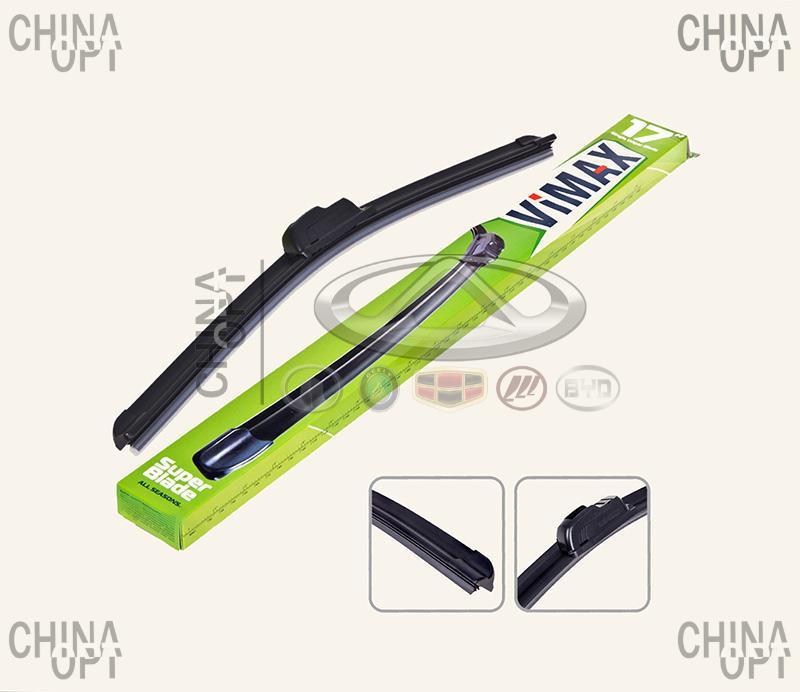 Щетка стеклоочистителя, 430mm, Chery A13, Forza [Sedan], DD-SW17-430, Vimax
