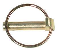 Шплинт DIN 11023 с кольцом, оцинкованный