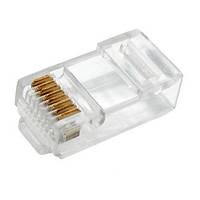01-12-012. Штекер сетевой  8р8с (RJ-45), Normal quality, упаковка 1000шт
