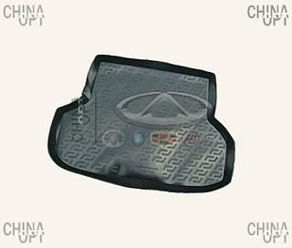 Коврик багажника резиновый, Chery Elara [до 2011г, 1.5], CRCHA21, MEGA LOCKER