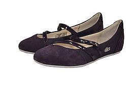 Балетки женские Lacoste цвет фиолетовый размер 37 арт 16SRW0245