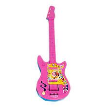 Детский музыкальный инструмент «Maximus» (5096) Гитара маленькая, (розово-голубая)