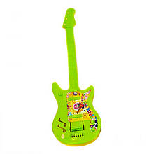 Детский музыкальный инструмент «Maximus» (5096) Гитара маленькая, (салатово-желтая)