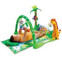"""Коврик для малышей """"Тропический лес"""" 3059"""
