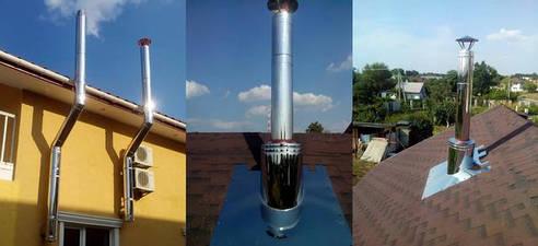Дымоходные трубы от производителя