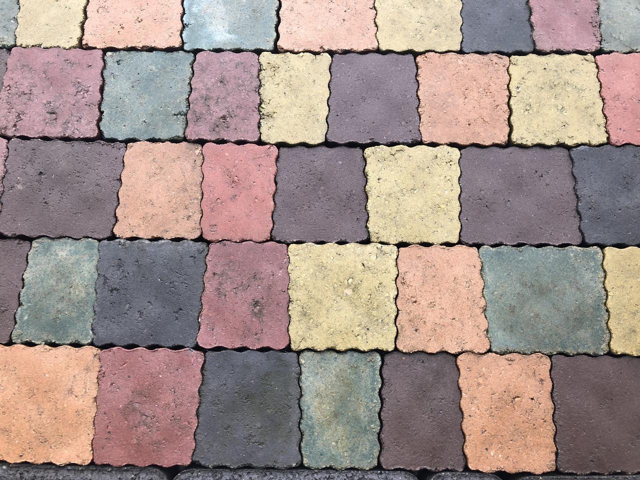 Тротуарная плитка Креатив стенд 4-6