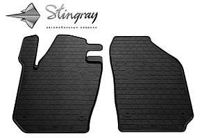 Skoda Fabia III 2015- Комплект из 2-х ковриков Черный в салон