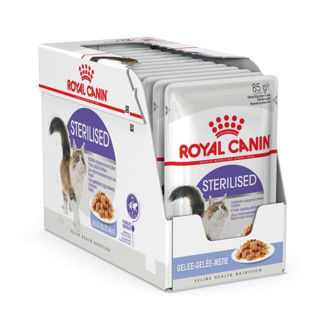 Royal Canin Sterilised паштет 85г*12шт - паучи для стерилізованих кішок старше 1 року