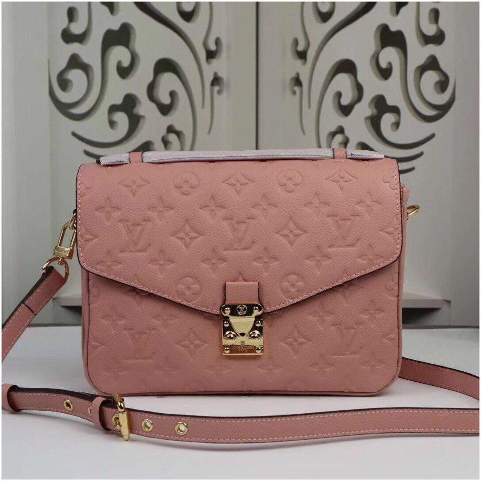 184eba358997 Сумка Louis Vuitton Луи Витон Pochette Metis Monogram цвет розовый кожаная  - Annashop.com.