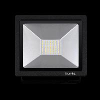 Светодиодный прожектор Ilumia 30Вт, 4000К (нейтральный белый), 3000Лм (042)