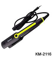 Утюжок для волос гофре Kemei KM-2116-1