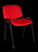 Офисный стул ISO black С-2 ткань Красный