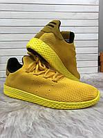 Кроссовки мужские Adidas D3039 желтые, фото 1