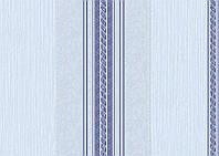 Обои виниловые Марго полоса 10766 голубой