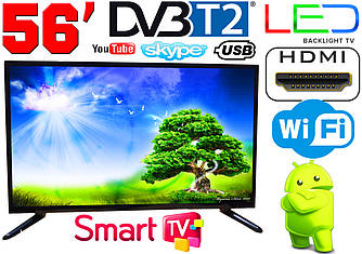 "LED телевизор 56"" FullHD,SmartTV, IPTV, Android, T2, WIFI, USB"