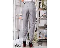 Красивые  брюки с завышеной талией  42,44,46,48р