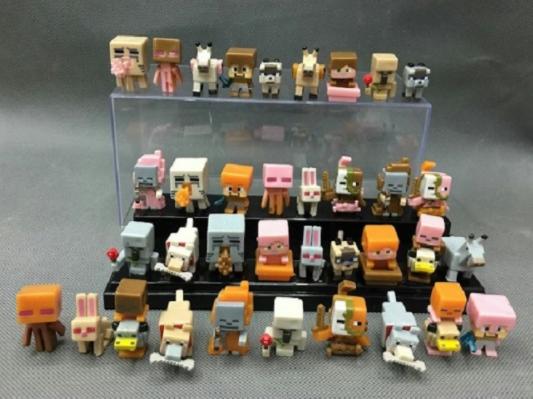 Набор 36 шт. Майнкрафт Minecraft Фигурки героев игры, фото 1