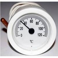 Термометр круглый 50 мм с выносным датчиком 1м