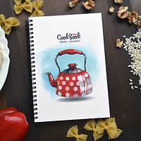 Блокнот для записи рецептов с чайником