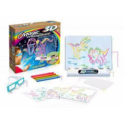 Игровой набор с 3D-эффектом Toy Magic 3D динозавр