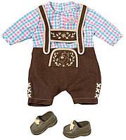Набор одежды с обувью для малыша BABY BORN - Баварский стиль***