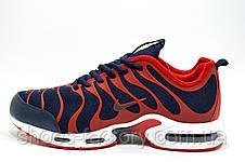Мужские кроссовки Nike в стиле Air Max Plus TN Ultra, Red\Blue, фото 3