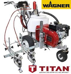 Машина для дорожньої розмітки TITAN (Wagner) PowrLiner 4955