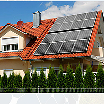 3 кВт солнечная сетевая электростанция под Зеленый тариф 1 фаза, фото 3