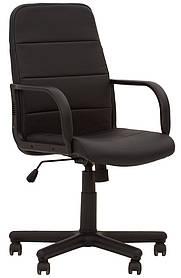 Кресло офисное Booster plastic механизм Tilt крестовина PM60, экокожа Eco-30 (Новый Стиль ТМ)