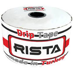 Капельная лента Rista Турция 100 метров расстояние 10 сантиметров Риста