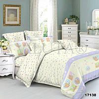 Постельное белье в детскую кроватку Viluta. Ранфорс 1738
